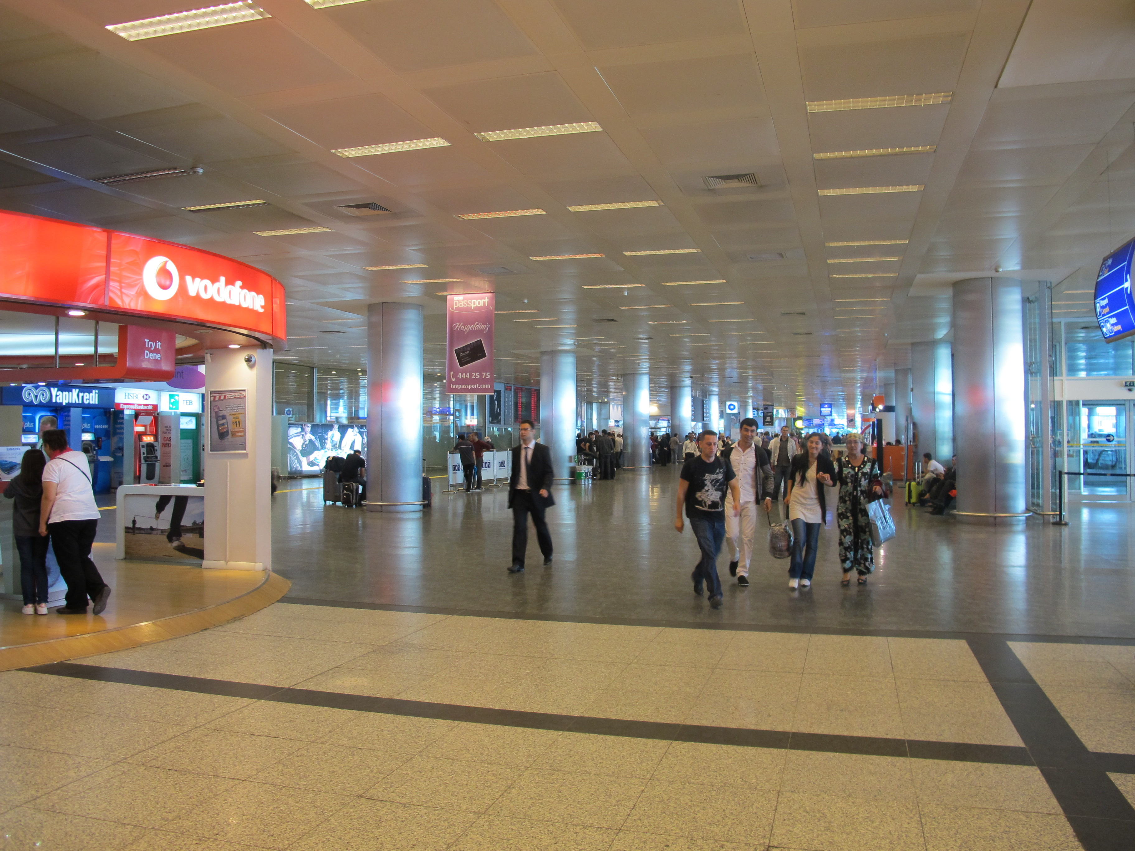 Image gallery istanbul airport arrivals for Paradise airport hotel istanbul
